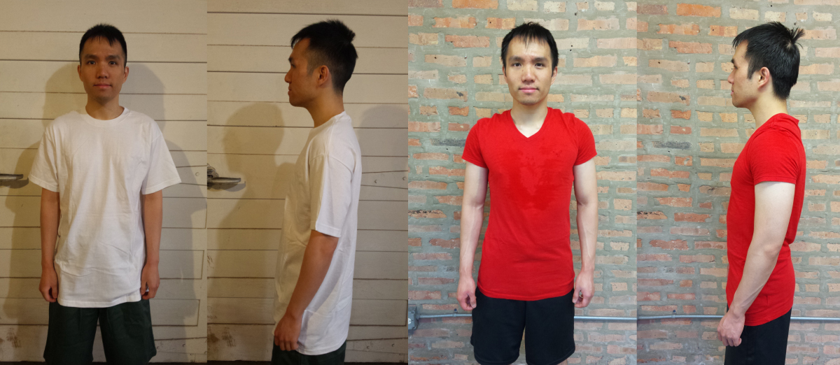 before and after personal trainer